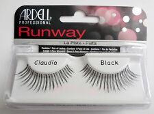 NIB~ Ardell Runway Lash CLAUDIA False Fake Lashes Eyelashes Black