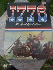 Vintage 1776 THE BIRTH OF A NATION  REISS #162 1974 Board Game Dynamic Bookshelf