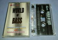 SUKSHINDER SINGH SHINDA WORLD OF BASS cassette tape album T7928