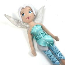 Periwinkle TINKERBELL Plush DISNEY Secret Of The Wings SISTER Aqua DOLL Fairies