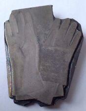Antique c1900 British Glove Advertising Printing Plate / Block.