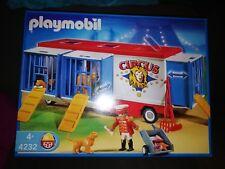 Playmobil 4232 Raubtier-Käfigwagen - Zirkuswagen, Zirkus ungeöffnet OVP