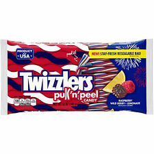Twizzlers, Pull 'n' Peel Candy-Raspberry, Wild Berry, and Lemonade, 12oz 04/17