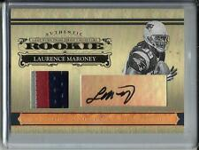 Laurence Maroney 2006 National Treasures Autograph Game Jersey Patch RC #7/25