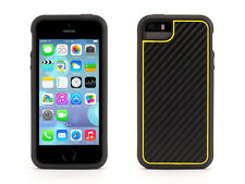 Genuine Griffin Identity Ultra Slim Case for iPhone 5s 5 Graphite Yellow GB39636