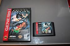 Batman Forever para Mega Drive Genesis Funcionando Sega con caja