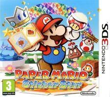 Paper Mario Sticker Star Jeu 3ds TBE - 2DS - 3DS - New 3DS Version Française