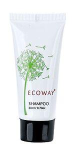 Hotel Shampoos 400pcs Bulk Hotel/Motel 20ml EcoWay White Tubes