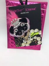 Dog With Crown Pin 1B $25 Betsey Johnson gold tone