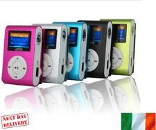 New Mp3 Music Player With Clip LCD Display Micro SD Card Slot Up To 32 GB