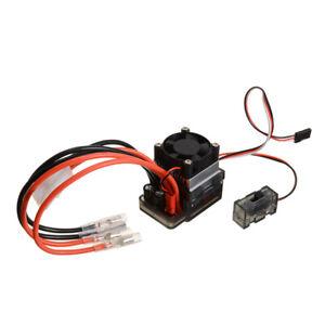 7.2-16V 320A Brushed Fahrregler Speed Controller ESC für 1/10 1/8 RC Auto DE