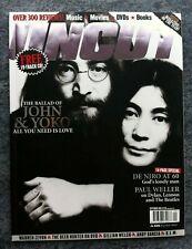 Uncut Magazine September 2003. John Lennon. Yoko Ono. Paul Weller. Robert Deniro
