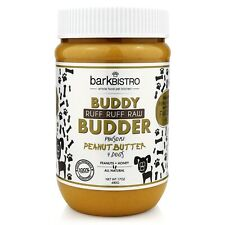 Bark Bistro Company, Ruff Ruff Raw BUDDY BUDDER, 100% Natural Dog Peanut Butter