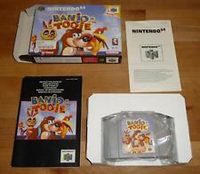 Original N64 Banjo Tooie - Nintendo PAL Deutsch Top - mit OVP Box CIB