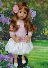 Masterpiece Dolls Cassi Strawberry Blonde Hair, Brown Eyes, Monka Levenig, 34""