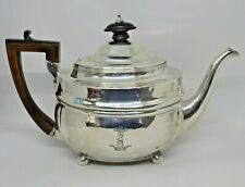 More details for 1806 georgian antique english sterling silver teapot. 460 grams. charles fox.