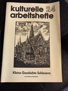"""Broschur """"kulturelle Arbeitshefte - Kleine Geschichte Schlesiens"""" 24"""