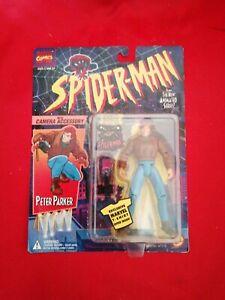 1994 Toy Biz Peter Parker Action Figure Spider-man  Series