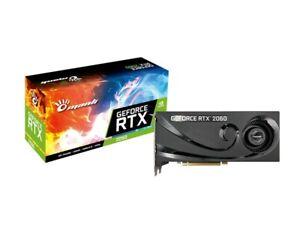 Manli nvdia GeForce RTX 2060 6gb GDDR 6 PCIe HDMI 3 xdisplayport tarjeta gráfica