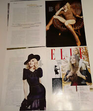 MADONNA LOT OF 35 CLIPPINGS IN SPANISH ARGENTINA ULTRA RARE!!!