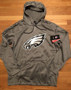 Nike Philadelphia Eagles Mens Hoodie Size Small Nwt Therma-fit 829455-063