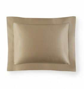 ITALY SFERRA GIOTTO COTTON SATEEN PILLOW SHAM IN SOLID COLORS