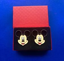 Mickey Mouse Cufflinks Disney Character Cuff Links (New)