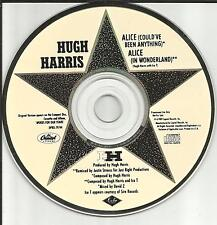 HUGH HARRIS & ICE T Alice Could've Been Anything REMIX 1989 PROMO DJ CD Single