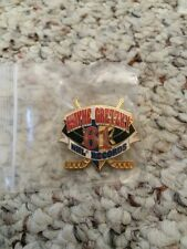 Vtg NHL Wayne Gretzky 61 NHL Records Lapel Pin - Fast Ship!