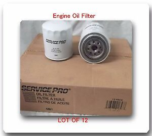 CASE OF 12 OIL FILTERS M81 PH16  Fits: DODGE MITSUBISHI JEEP ACURA TOYOTA &