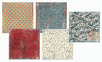 Daisy D's 12x12 Scrapbook Papers Sets - Choose 5/7/8 or 9 Sheets