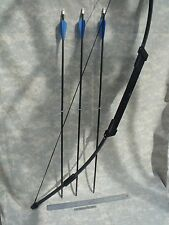 Ultra-Compact SURVIVAL/EMERGENCY Take Down BOW - 45# Longbow, (3) Arrows, Case