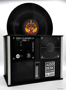 Audiodesksysteme GLÄSS Vinyl Cleaner PRO X in Schwarz Plattenwaschmaschine