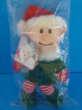 NEW! Elvin Christmas Elf Plush Doll Sears 2007--NEW SEALED BAG--