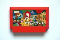 Famicom Donald Land Japan FC game US Seller