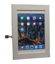 iPad Anti Theft Metal Easy Lock Case for Kiosk, POS, Time Clock, Store Display