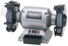 Draper 230V 200mm Heavy Duty Bench Grinder 29621