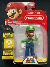 2015 World of Nintendo Super Mario Series 1-2 Luigi Toy Action Figure New Jakks