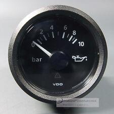 VDO ÖLDRUCKANZER  OEL DRUCKANZEIGER  OIL PRESSURE GAUGE 10 bar 12V / 24V