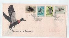 1991 Waterbirds of Australia Set Of 4 Fdc