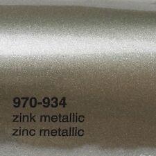 17,09€/m ² 0,5m m x 1 , 52m Oracal 970ra Cinc Metálico Brillo 934 Película Auto