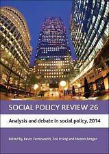 Social Policy Review 2014: Analysis and Debate in Social Policy, 2014, Kevin Far