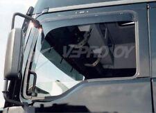 To Fit 2015+ MAN TGX Euro 6 Side Window Wind Sun Rain Deflectors Shield- Type B