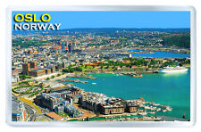 OSLO NORWAY FRIDGE MAGNET SOUVENIR IMAN NEVERA