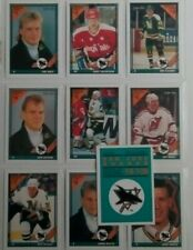 THE O PEE CHEE 1991- 1992 HOCKEY TRADING CARDS COLLECTION #1S - #10S