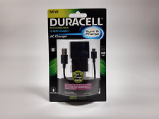 Genuine Duracell Cell Phone AC Charger f2529 for Micro USB Devices