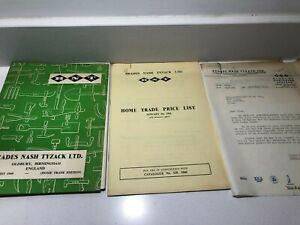 1960 catalogue BRADES NASH TYZACK TOOLS home trade edition garden axes trowels