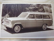 1966 JEEP   WAGONEER  11 X 17  PHOTO /  PICTURE