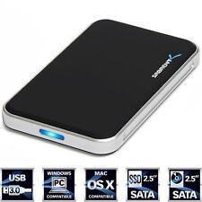 """Sabrent 2.5"""" SATA to USB 3.0 External Hard Drive Enclosure Black (EC-TB4P)"""