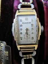 1930`s  BULOVA   * LONE EAGLE  * working vintage watch with original case